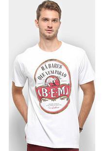 Camiseta Reserva Há Bares Masculina - Masculino