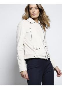 Jaqueta Debora Em Suede - Bege Clarole Lis Blanc