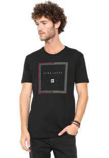 Camiseta Hang Loose Rasta Preta