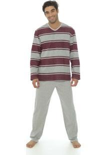 Pijama Masculino Recco Malha Comfort 09079 - Masculino
