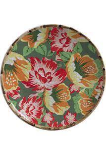 Prato De Sobremesa De Cerâmica Caruaru Maison Blanche 20 Cm - 28236