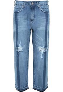 Calça Boyfriend Jeans Destroyed