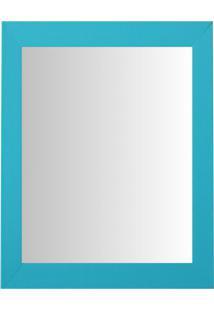 Espelho Moldura Madeira Lisa Raso 16309 Anis Art Shop