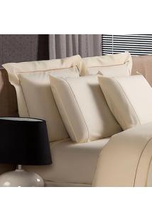 Fronha Plumasul Premium Palace 230 Fios 50X90Cm Bege
