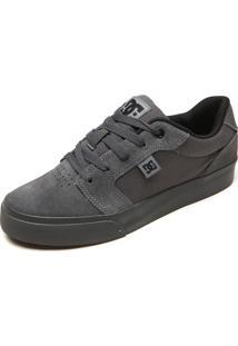 Tênis Dc Shoes Anvil La Cinza