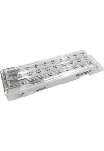 Luminária De Emergência Alltech 30 Leds Bivolt Com Bateria De Lithium