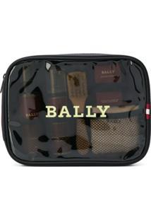 Bally Necessaire Com Logo - Preto