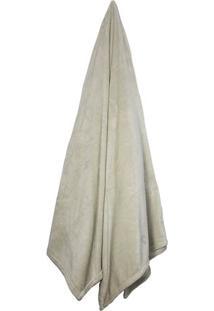 Cobertor Velour Neo Em Microfibra Queen Size- Bege Clarocamesa