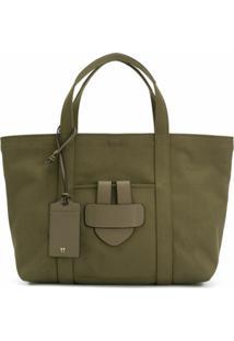 Tila March Bolsa Tote 'Simple Bag M' - Verde