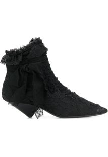 Saint Laurent Ankle Boot 'Blaze' - Preto