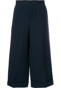 Marni Tailored Culotte Trousers - Azul