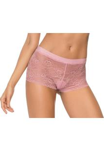 Calcinha Boxer Zee Rucci Lace