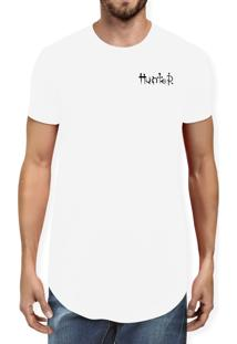 Camiseta Hunter Logo Branca