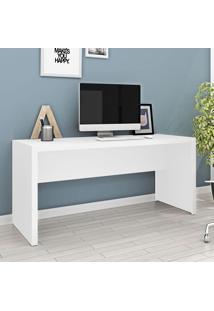 Mesa Escritório Me4109 Branco - Tecno Mobili