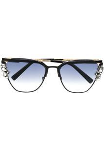 Dsquared2 Eyewear Óculos De Sol  Estelle  - Preto 9521b5a3f8