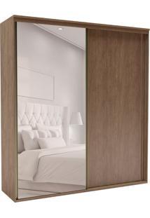 Guarda-Roupa Casal Com Espelho Inovatto 2 Pt 3 Gv Ébano