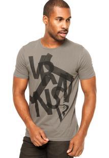 Camiseta Vr Logo Cinza