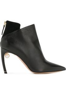 Nicholas Kirkwood Ankle Boot 'Mia' - Preto