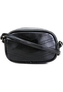 Bolsa Pagani Crossbody Mini Bag Feminina - Feminino-Preto