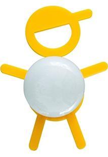 Abajur Cromalux Stickboy Amarelo