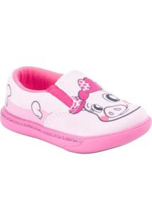 Tênis Dock Beehappy - Masculino-Pink+Rosa