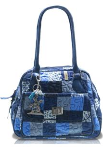 Bolsa Giulianna Fiori Jennifer Rosemary Em Patchwork Original