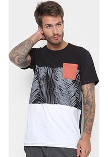 Camiseta Rusty Esp Tropical Masculina - Masculino
