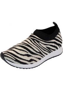 Tenis Innovativi Tricot Animal Zebra