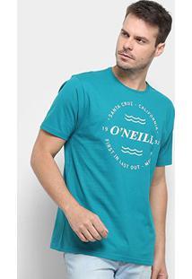 Camiseta O'Neill Wind & Sea-4887B - Masculino-Azul Escuro