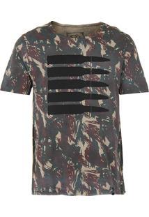 Camiseta Masculina Icebox - Verde Escuro