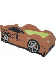 Bicama Xr4 Cama Carro Laranja