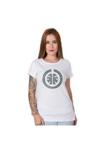 Camiseta Signature Psychedelic Branco