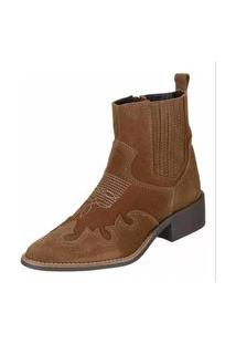 Bota Dududias10 Ankle Boot Rust 10032 Marrom