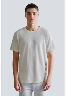 Camiseta Canhamo Reserva Masculina - Masculino-Bege