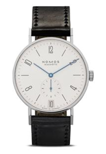 Nomos Glashütte Relógio Tangente Date 38Mm - White, Silver-Plated