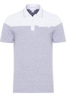 Camisa Polo Masculina - Branco