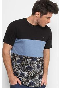 Camiseta Mcd Especial Core Tropical Bones Masculina - Masculino-Azul