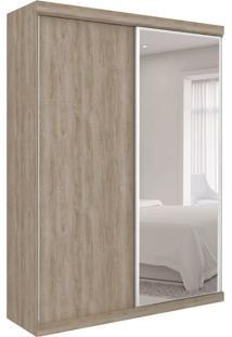 Guarda-Roupa Closet Modulado Virtual Ii Com Espelho 2 Pt 6 Gv Cedro Amadeirado