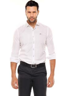 Camisa Manga Longa Remo Fenut Lisa Branco