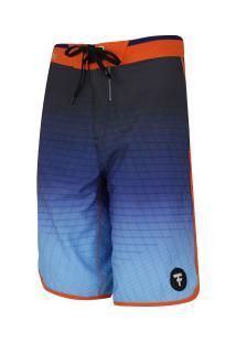 Bermuda Fatal Tecnológico 9921 - Masculina - Azul/Preto