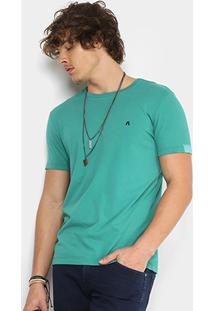Camiseta Replay Lisa Masculina - Masculino-Verde