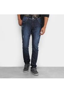 Calça Jeans Mcd Denim New Slim Fade Masculina - Masculino-Jeans