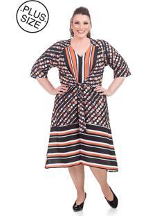 8ca5a17d4cf0 Kanui Vestido Midi Maria Amaral Estampado Floral Com Corrente. Ir para a  loja; -51% Vestido Midi Talento Estampado