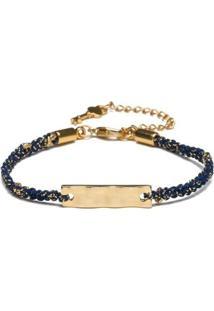 Pulseira Key Design Diana Gold Feminina - Feminino