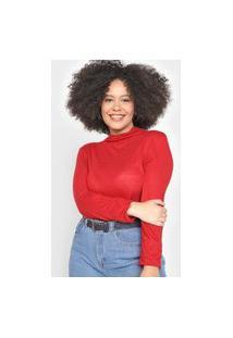 Blusa Calvin Klein Lisa Vermelha