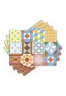 Jogo Americano - Azulejos Com 4 Peças - 1153Jo