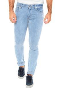 Calça Jeans Lacoste And City Pants Azul