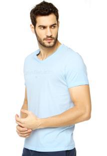 Camiseta Calvin Klein Jeans Lisa Azul