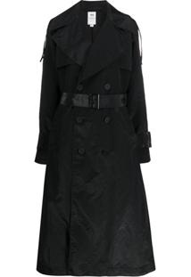Y-3 Trench Coat Longo - Preto