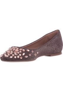 Sapatilha Butique De Sapatos Valentino Lurex Rose